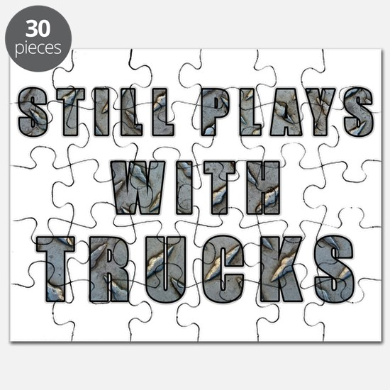 Still Plays With Trucks Puzzle