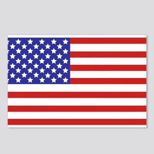 American flag Postcards (Package of 8)