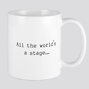 the world's a stage Mug