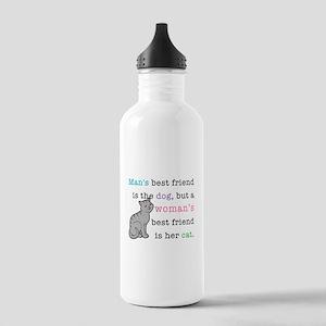 Woman's Best Friend Stainless Water Bottle 1.0L