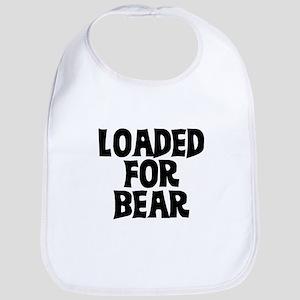 loaded for bear Bib