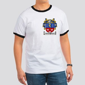 McLaughlin Coat of Arms Ringer T