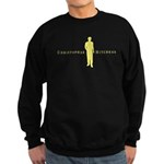 Christopher Hitchens Black Sweatshirt (dark)
