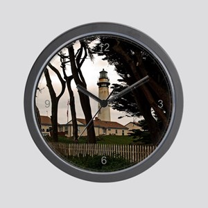 Pigeon Point Fence Wall Clock