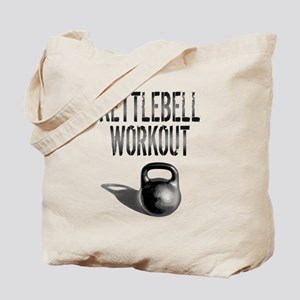 Kettlebell Workout Tote Bag
