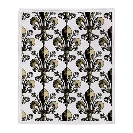 NOLA Antique Fleur Throw Blanket