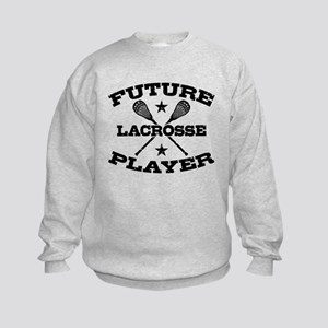 Future Lacrosse Player Kids Sweatshirt