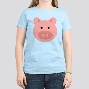 Cute Pig Women's Light T-Shirt