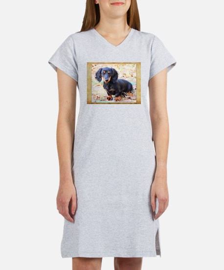 Puppy Love Doxie Women's Nightshirt