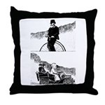 Pen and Ink by Alice Flynn Throw Pillow