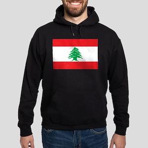 Flag of Lebanon Hoodie (dark)