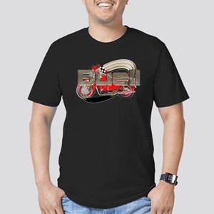 Buell Racing Men's Fitted T-Shirt (dark)