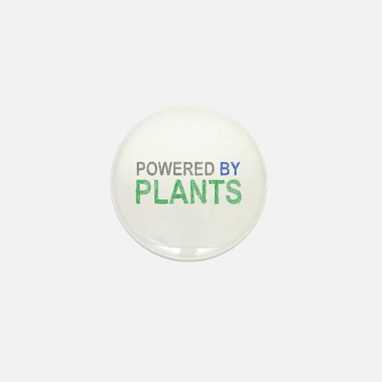 Powered By Plants Mini Button