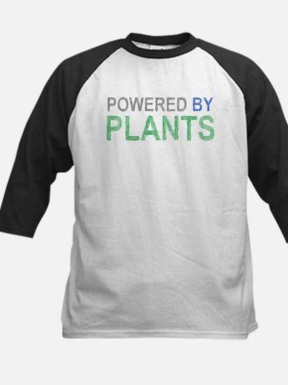 Powered By Plants Kids Baseball Jersey