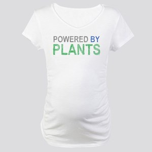 Powered By Plants Maternity T-Shirt