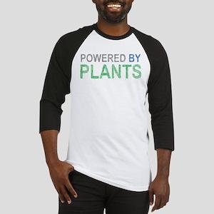 Powered By Plants Baseball Jersey