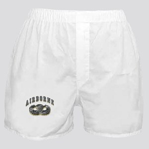 US Army Airborne Wings Silver Boxer Shorts