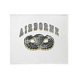 Airborne ranger Fleece Blankets