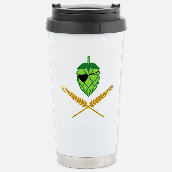 Pirate Hop Stainless Steel Travel Mug