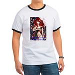 HookedOnVamps Ringer T Shirt