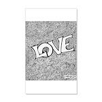 LOVE 22x14 Wall Peel
