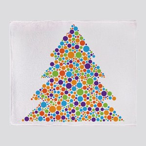 Tree of Dots Throw Blanket