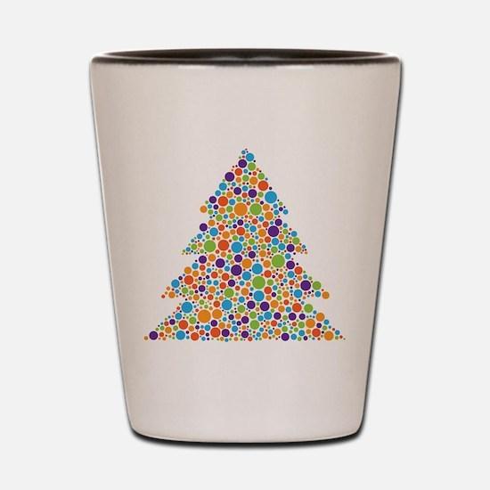 Tree of Dots Shot Glass
