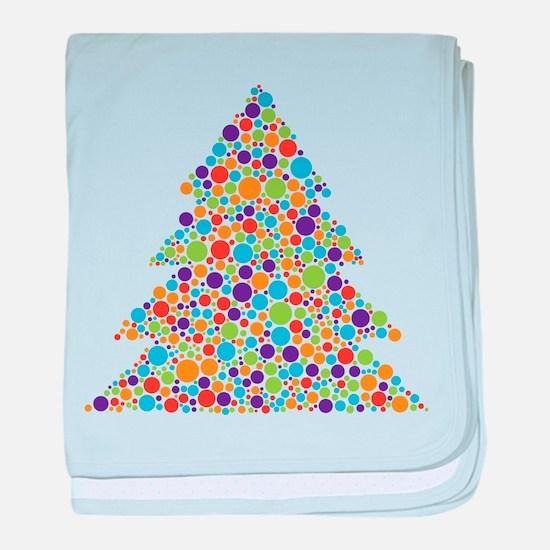 Tree of Dots baby blanket