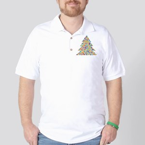 Tree of Dots Golf Shirt