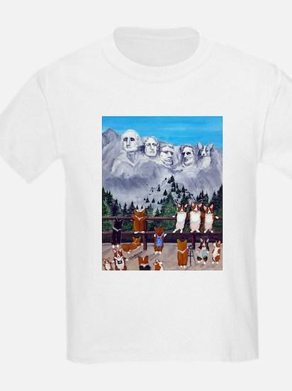 Mt. Corgimore Kids T-Shirt