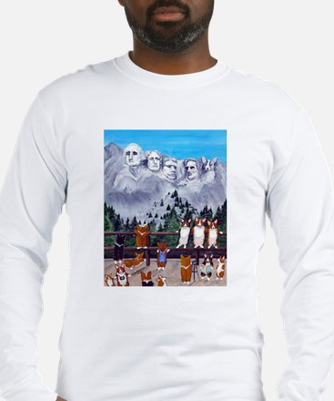 Mt. Corgimore Long Sleeve T-Shirt