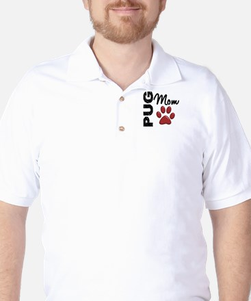 Pug Mom 2 Golf Shirt