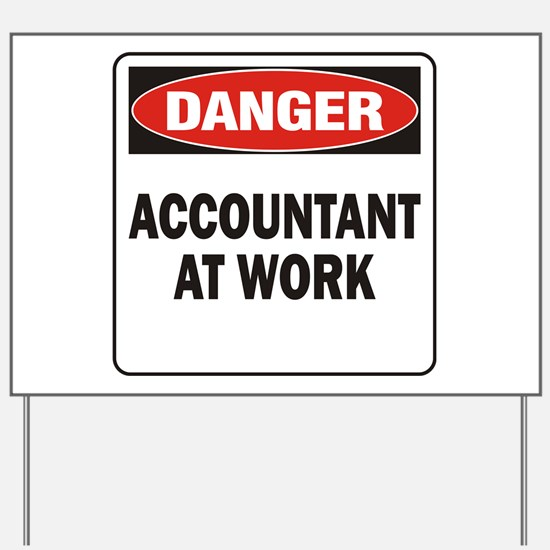 Accountant Yard Sign