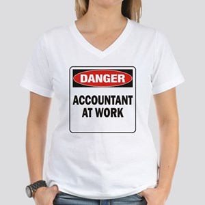 Accountant Women's V-Neck T-Shirt