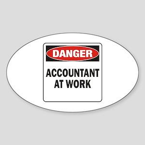 Accountant Sticker (Oval)