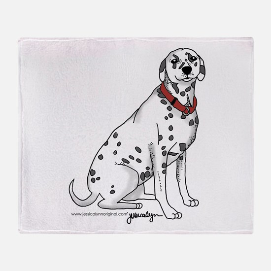 Cute 101 dalmatians Throw Blanket