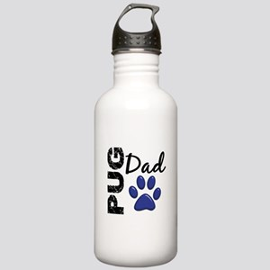 Pug Dad 2 Stainless Water Bottle 1.0L