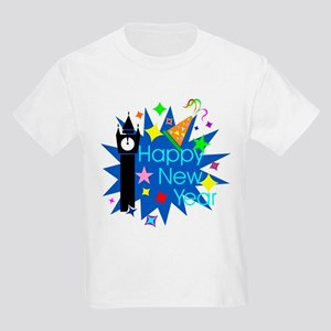 Happy New Year Kids Light T-Shirt