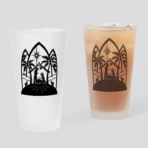 Nativity Drinking Glass