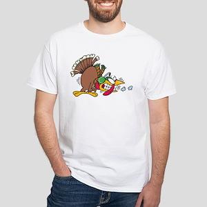 Cold Turkey White T-Shirt