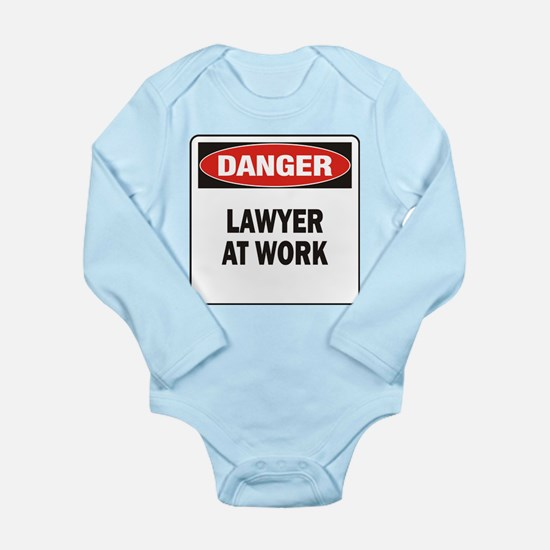 Lawyer Long Sleeve Infant Bodysuit