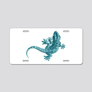 Gecko Aluminum License Plate