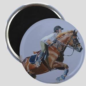 Horse & Rider Hunter/Jumper Magnet