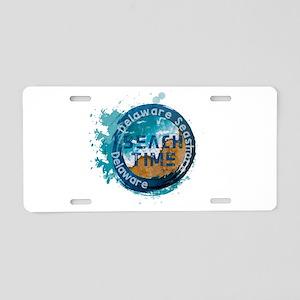 Delaware Seashore State Par Aluminum License Plate
