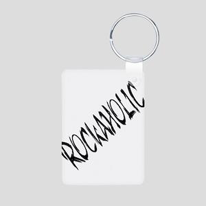 ROCKAHOLIC Aluminum Photo Keychain