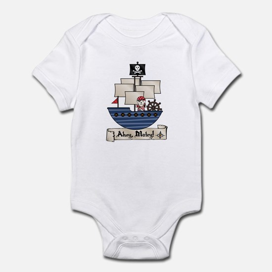 Ahoy Matey Pirate Infant Bodysuit