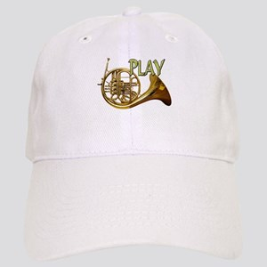 ba27a76f766ff Grunge French Horn Cool Tablet Hats - CafePress