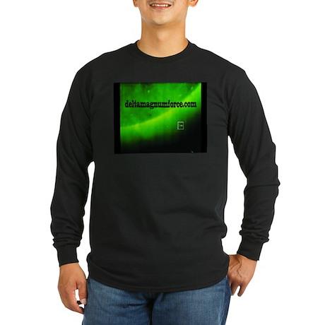 Long Sleeve Dark T-Shirt- e.m.v.