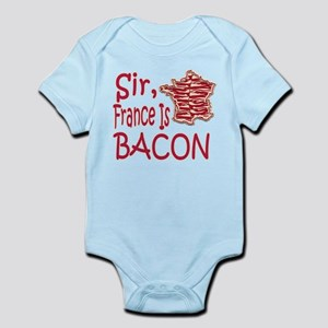 Sir France Is Bacon Infant Bodysuit