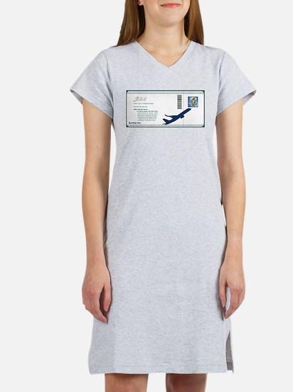 Boarding Pass Women's Nightshirt